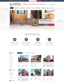 Real estate website - Acropola-reb.ro