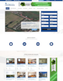 Real estate portal with FLexMLS and CRM API integration.